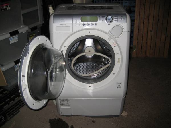 TOSHIBA ドラム式洗濯乾燥機 6.5Kg スリムタイプ TW-150SVC_画像2