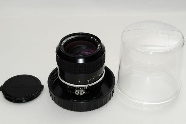 ★銘玉★極上美品★ ニコン NIKON Ai Nikkor 28mm F2 明るい広角単焦点 #864