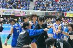 Vリーグ女子FINAL6 2/18(土) 福岡 SS席ベンチ側☆1列目☆1枚