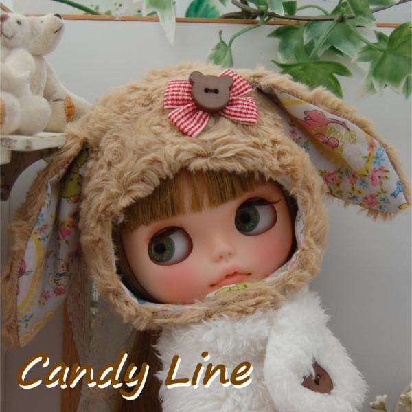 *Candy Line *カスタムブライス*☆たれ目うさぎちゃん☆