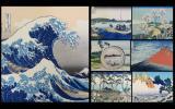 希少!東京国立博物館監修 手摺木版画 葛飾北斎「富嶽三十六景」全46枚!