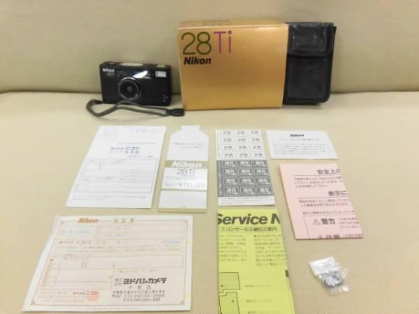 ○1円~レア ニコン Nikon 28Ti  28mm F2.8 革ケース付き  中古美品