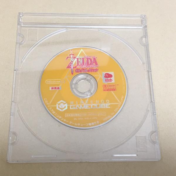 非売品ソフト ゼルダコレクション ゲームキューブ ディスクのみ 時のオカリナ ムジュラの仮面 ゼルダの伝説 リンクの冒険 GAMECUBE Zelda