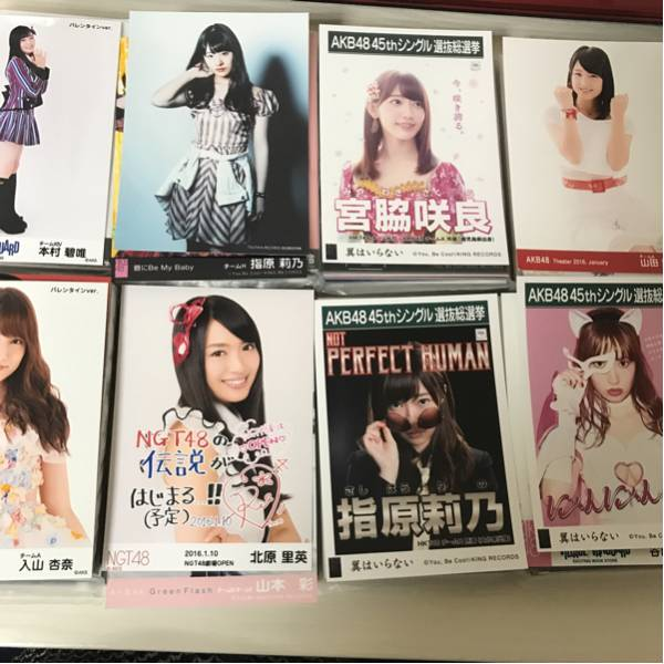 AKB48 グループ 生写真 約900枚 まとめ売り