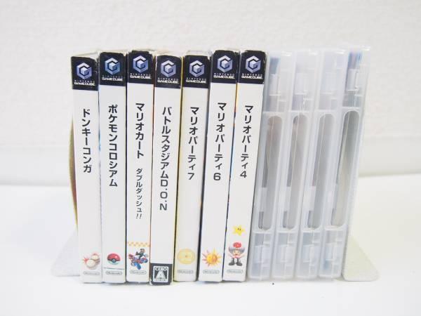 任天堂 ゲームキューブ ソフト 11本セット ゼルダ、マリオなど GC タイトル まとめ売り H1