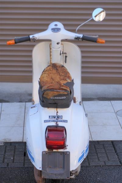 「vespa☆ベスパ☆ET3 125cc プリマベーラ 部品取り車」の画像3