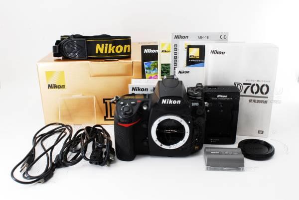 ★美品★ Nikon D700 ボディ ニコン 付属品多数! 元箱付き!