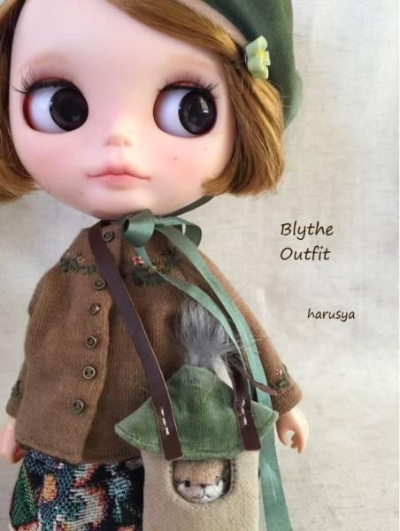*Blythe outfit・パペット・洋服 ♪*