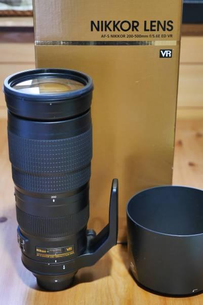 極上品 Nikon『 AF-S NIKKOR 200-500mm f/5.6E ED VR 』