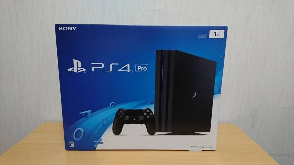 PS4 Pro 日本製 made in japan 1TB CUH-7000BB01 送料一律