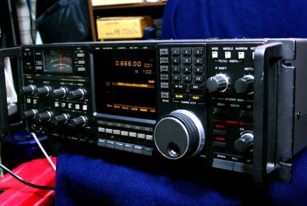 ICOM アイコム IC-R9000 IC-R9000 コミュニケーションレシーバ 新同 美麗 フルオプション DXer必見