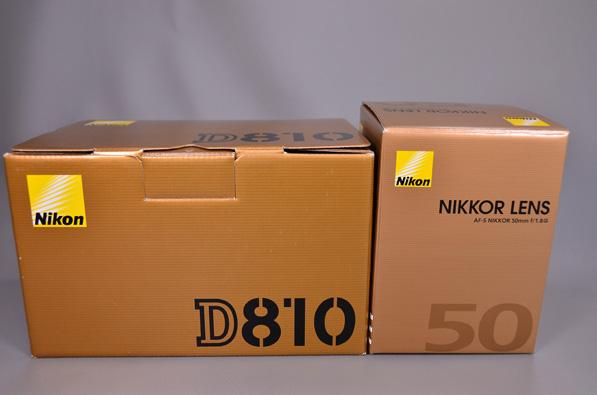 Nikon ニコン 中古 D810 ボディー FX フルサイズ 一眼 新品 AF-S 50mm 単焦点 セット