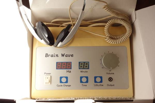ブレインパワートレーナー 脳波誘導装置 波動の器械 ブレインセラピー ブレインウェーブ アルファ波誘導 シータ波誘導 デルタ波
