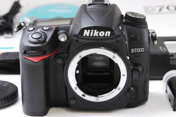 ★極美品★ NIKON ニコン D7000 ボディ 付属品完備 極上美品品質