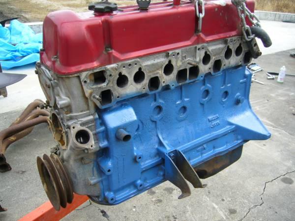 L型 L28 N42エンジン S30 ハコスカ ケンメリ ジャパン ローレル ブタケツ 130 GS 旧車 当時物