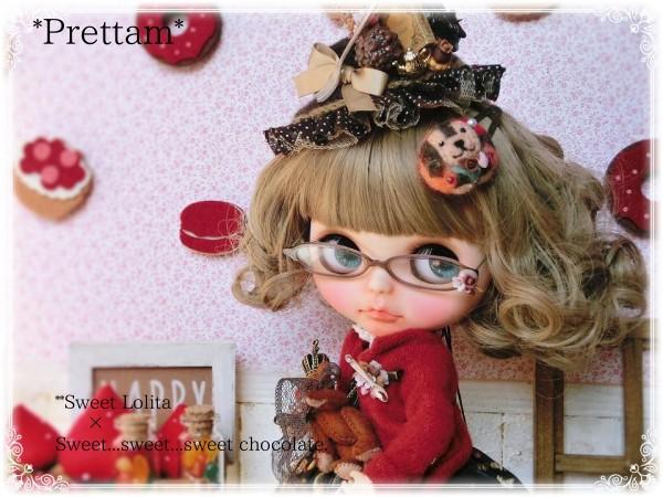 *Prettam**カスタムブライス*・。+.*S.Lolita×Sweet...sweet...sweet chocolate..*+.。・**