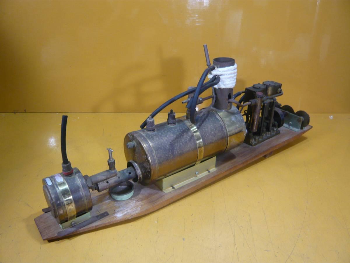 Паровой двигатель своими руками для кораблика