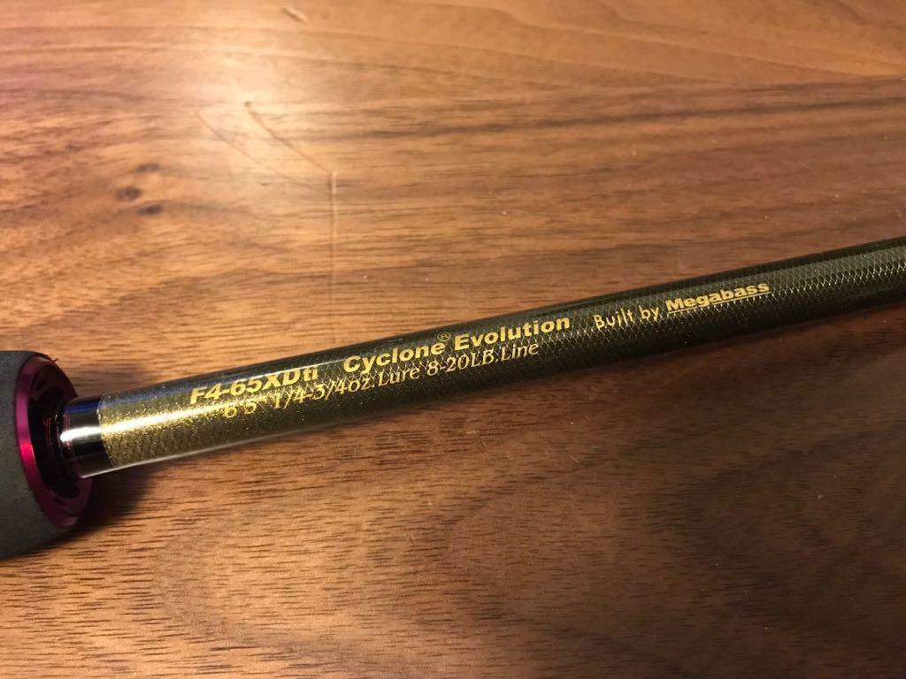 メガバス f4-65xdti cyclone evolution サイクロンエ
