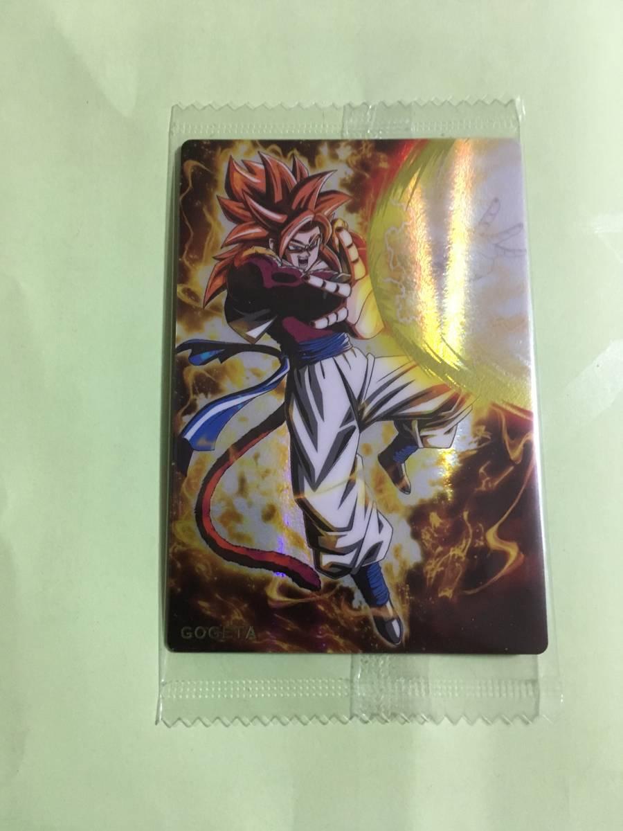 ドラゴンボール ウエハース カード ゴジータ
