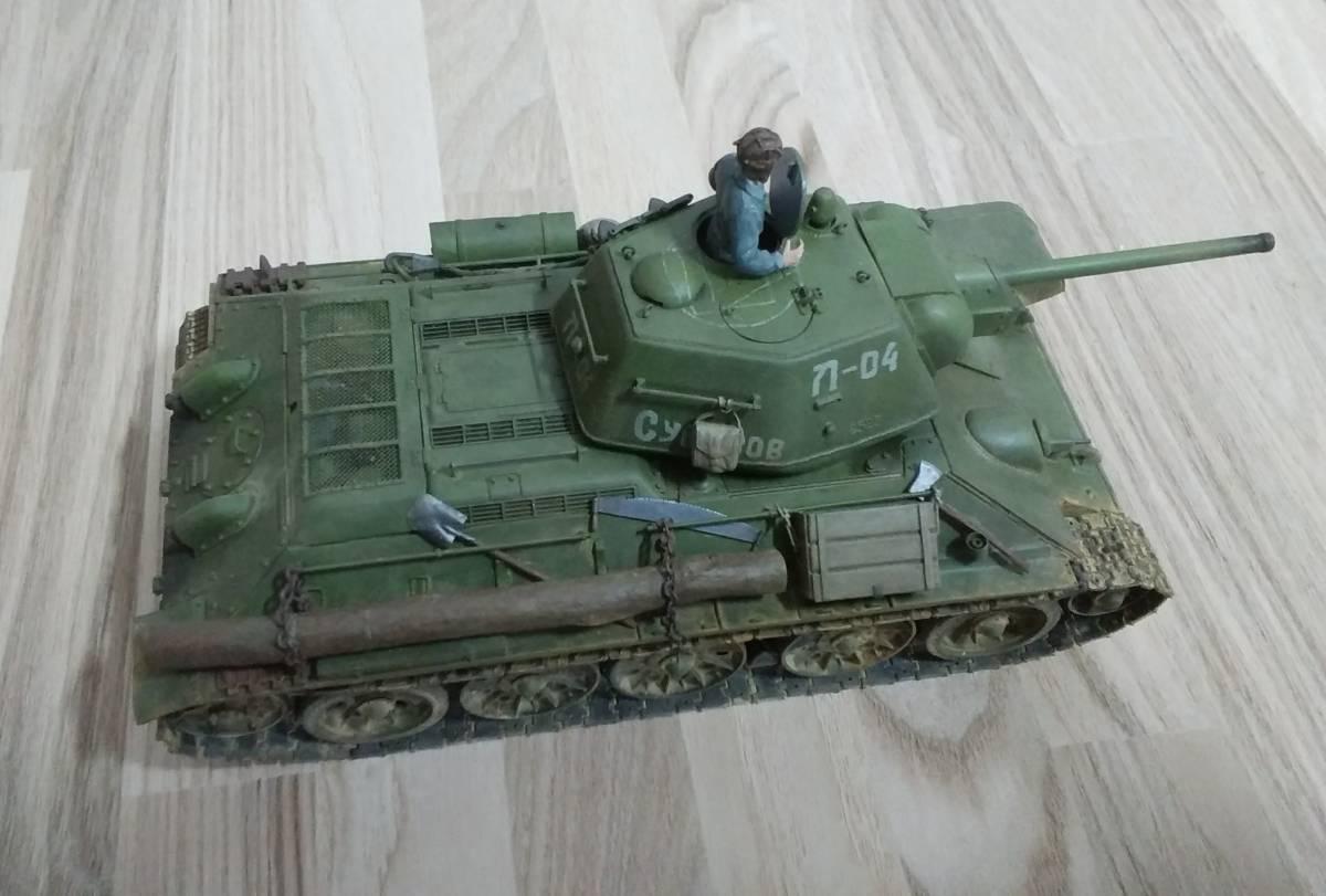 1/35 t34 戦车 タミヤ组立品