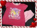 ◆魔法つかいプリキュア◆半袖パジャマ(ハーフパンツ)桃◆120cm