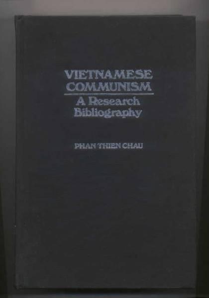 「Vietnamese Communism」 ベトナムの共産主義 研究図書目録