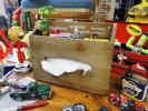 【166402】カルチャーマート ティッシュBOX/飾り棚/壁掛け/収納