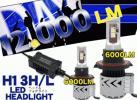 CREE製 LEDヘッドライト H13H/L (片側6000