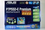 ASUS P7P55D-E PREMIUM ATX LGA1156 マザーボード 動作確認済み