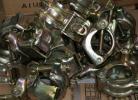 新品・税込◆単管クランプ・2連/固定・自在 48.6×48.6 30入