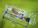 ペリフェラル4pin(オス)⇔SATA電源15pin(メス)×2変換ケーブル