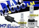 CREE製 LEDヘッドライト H7 (片側6000LM 6