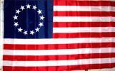 海外限定 アメリカ合衆国星条旗 ベッツィーロス13星特大フラ