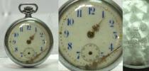 皇紀2599年(1939年) 金酬國 古い懐中時計0809L7r※