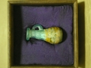 メソポタミア 古ガラス コアガラスの香油瓶  X17−3