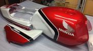 ◆◇HONDA ジェイド250 外装塗装! CBX1型赤白カラー◇◆