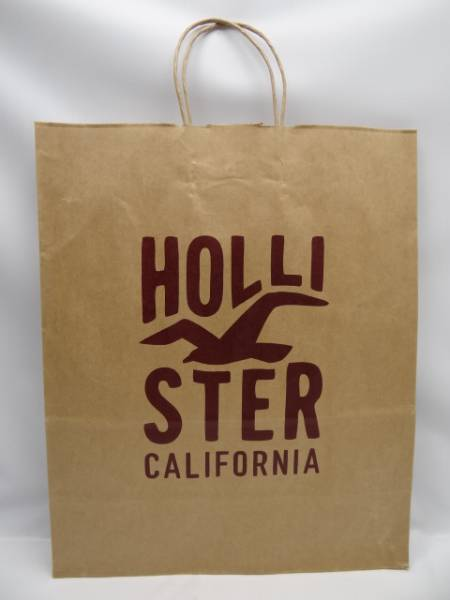 Hollister shop sack paper bag: Real Yahoo auction salling