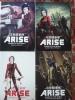 パンフレット「攻殻機動隊 ARISE border1,2,3,4 4冊セット」