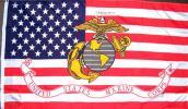 海外限定貴重アメリカ星条旗海兵隊USMC軍旗マリーン特大フラッグ