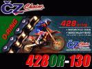 CZ Oリングレーシングチェーン EU製 トリッカー(XG250)/DT200