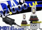CREE製 LEDヘッドライト HB1H/L (片側6000