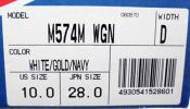 ★新品★レア高品質ニューバランスNB M574Mゴールドネイ