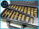 ■У穴あけドリルビット Drill Bit Set 豊富な19サイズ 170本入