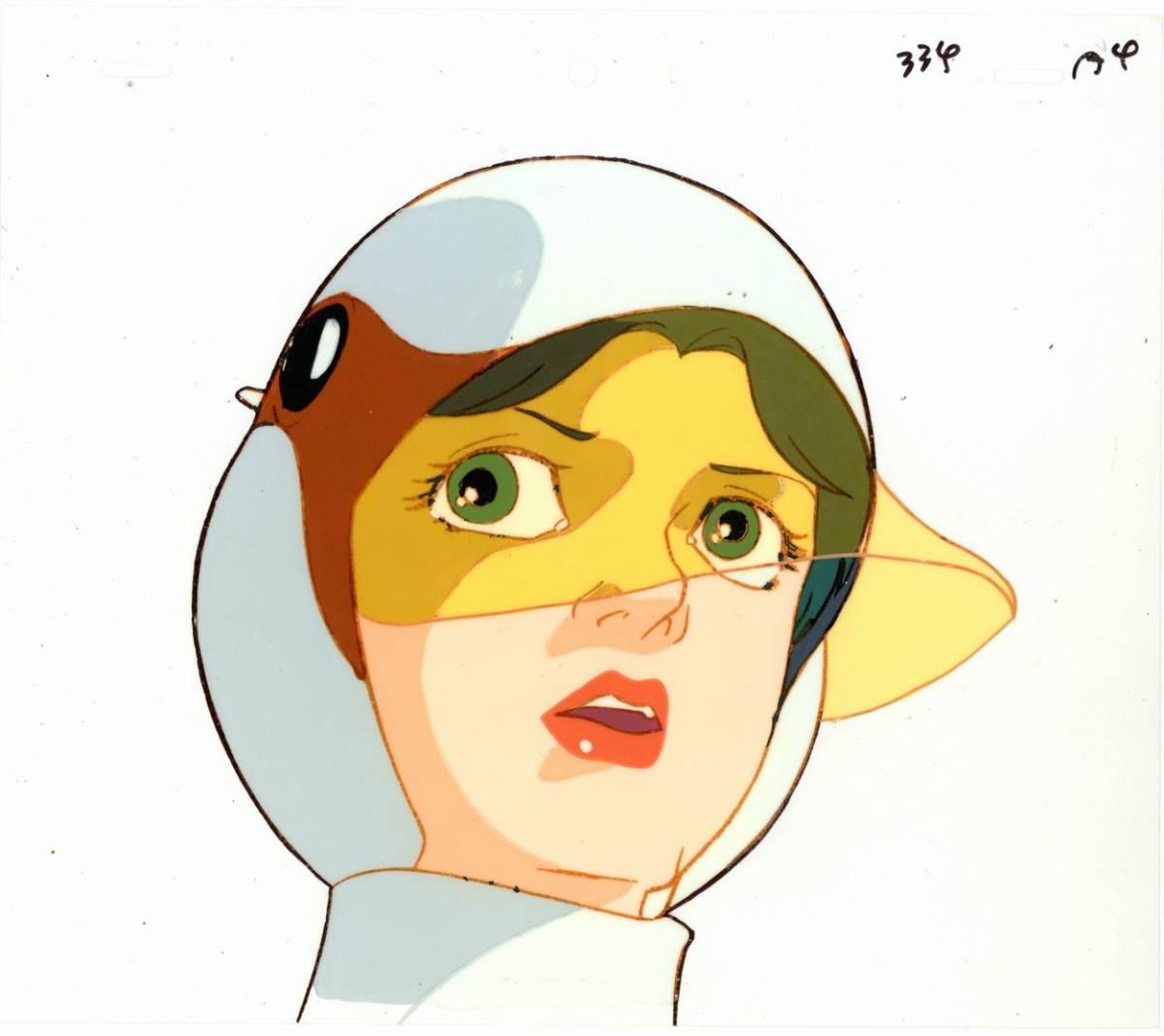 「科学忍者隊ガッチャマン」の白鳥のジュンのセル画(GATCHAMAN)_画像1
