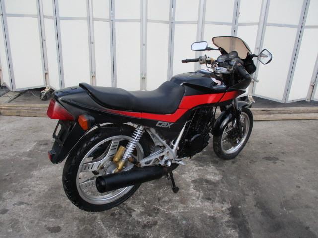 ▲5840▲ホンダ CBX250S ブラック MC12 書類なし 部品取り車 不動 愛知_画像7