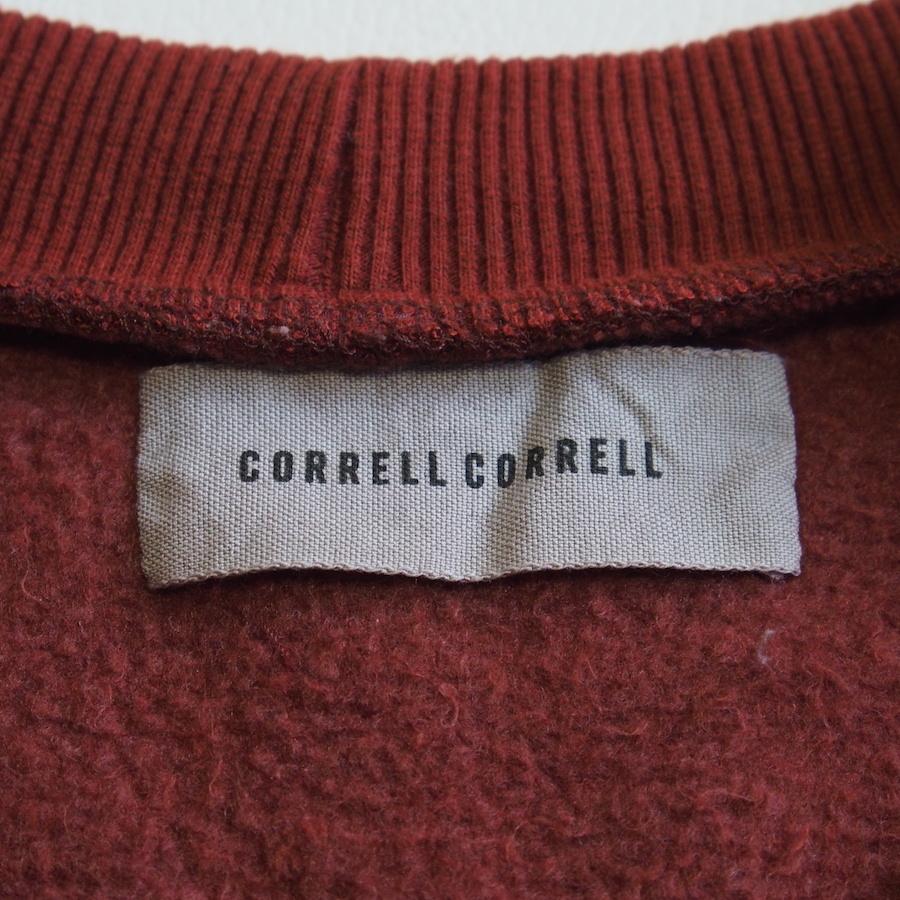 USA製 CORRELL CORRELL ポンポンプルオーバースウェット★コレル コレル