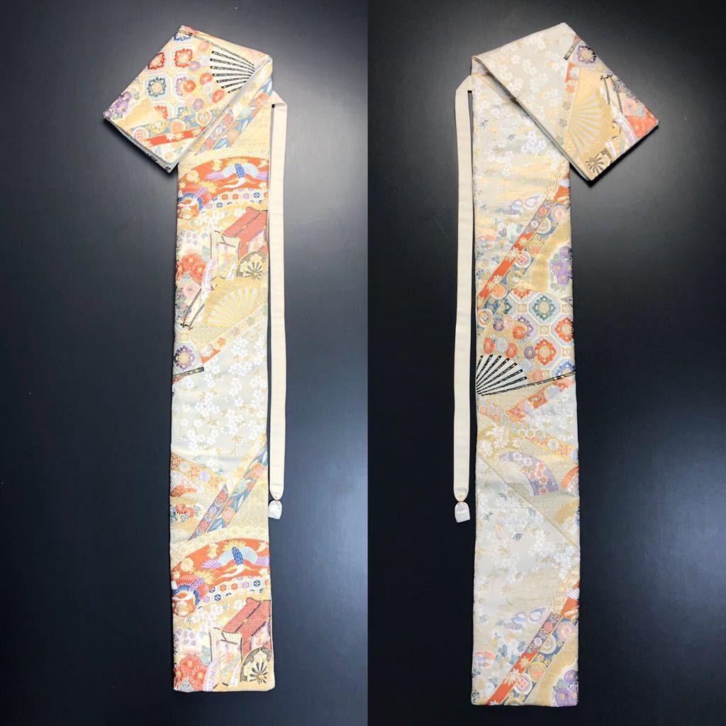 限定2本 日本刀 太刀 刀 刀袋 本金箔 明繍御所 職人ハンドメイド 100% 正絹使用 一点物 w-4_画像10