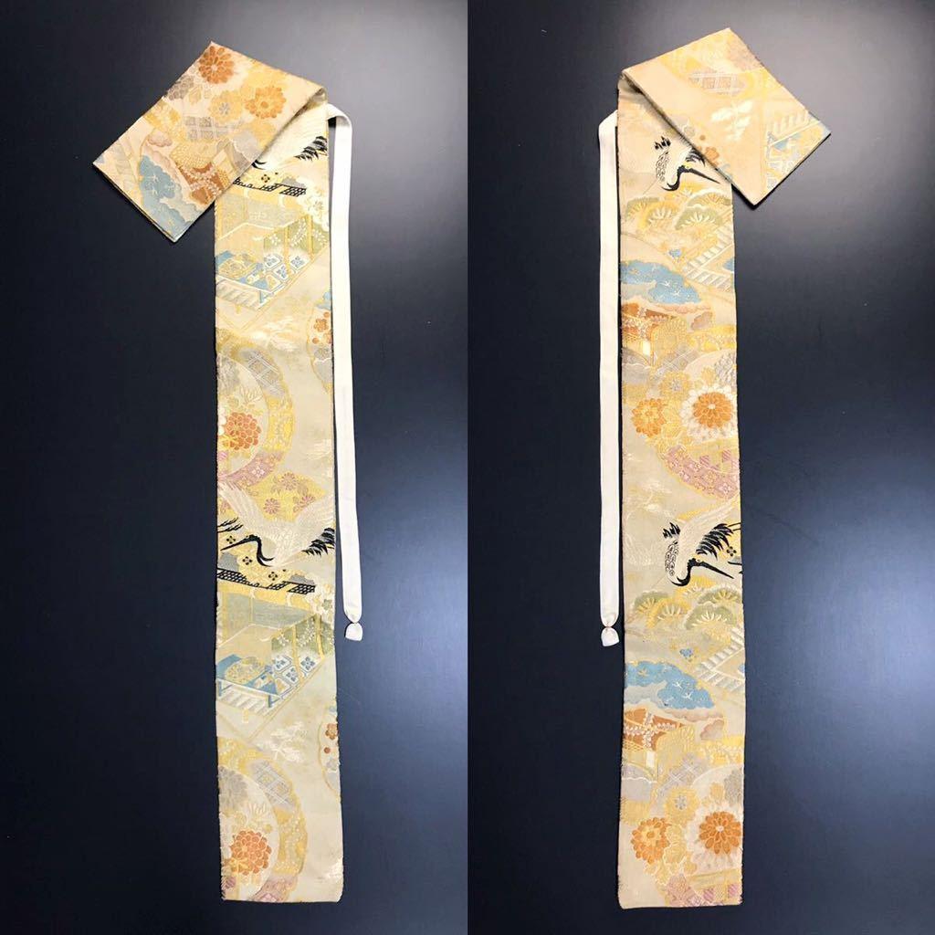 限定2本 日本刀 太刀 刀 刀袋 飛鶴紋 御所車紋 職人ハンドメイド 100%正絹使用 一点物 w-9_画像10