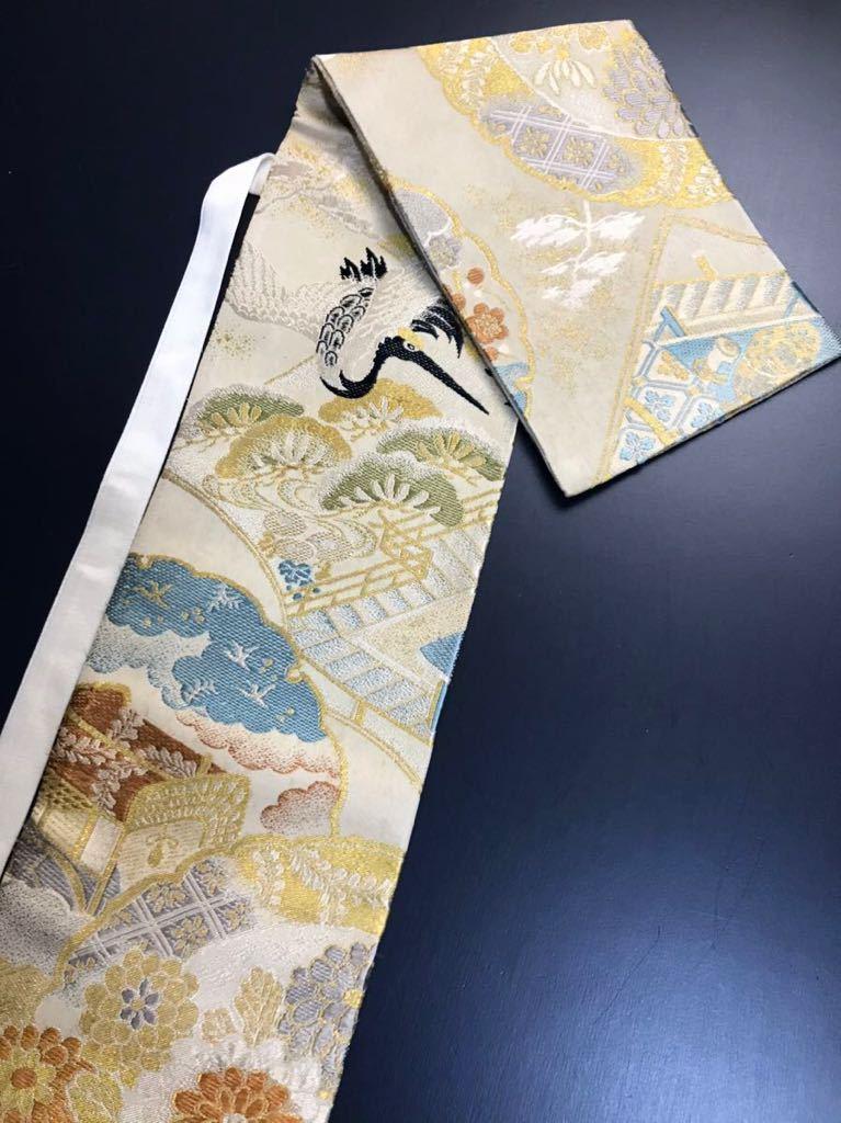 限定2本 日本刀 太刀 刀 刀袋 飛鶴紋 御所車紋 職人ハンドメイド 100%正絹使用 一点物 w-9_画像1