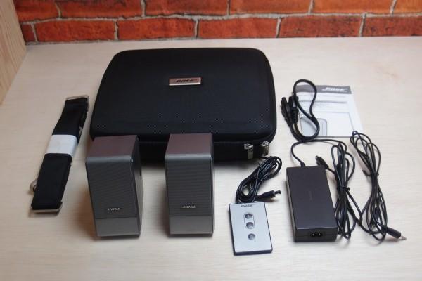 BOSE MusicMonitor M2 リモコン キャリングバッグ付き アクティブスピーカー 超小型アクティブモニター デジタルアンプ 送料無料